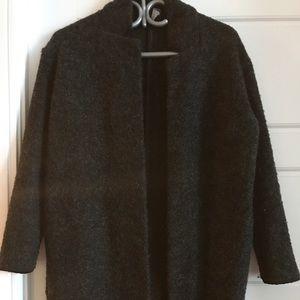 Zara open cardigan in size small